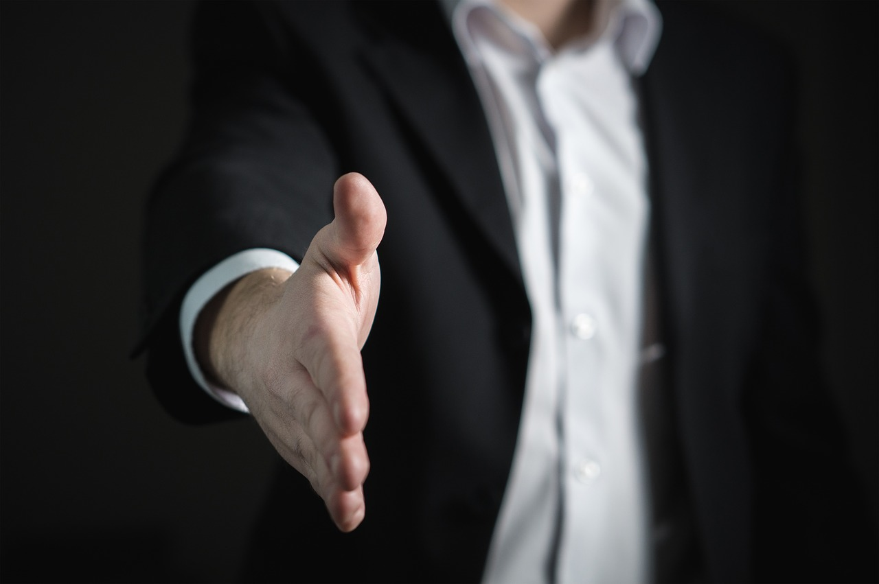 business_握手